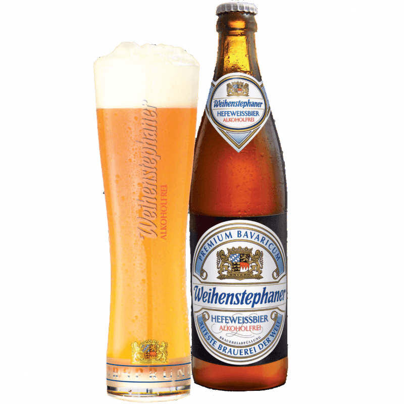"Пиво ""Weihenstephan"" Original Hell Alkoholfrei, 0.5 л. (0%)"