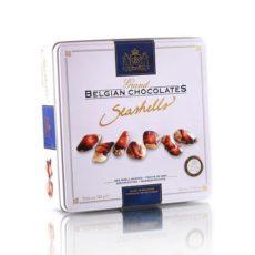 """Шоколадные""""Дары моря"""" The Belgian, металл 500г"""