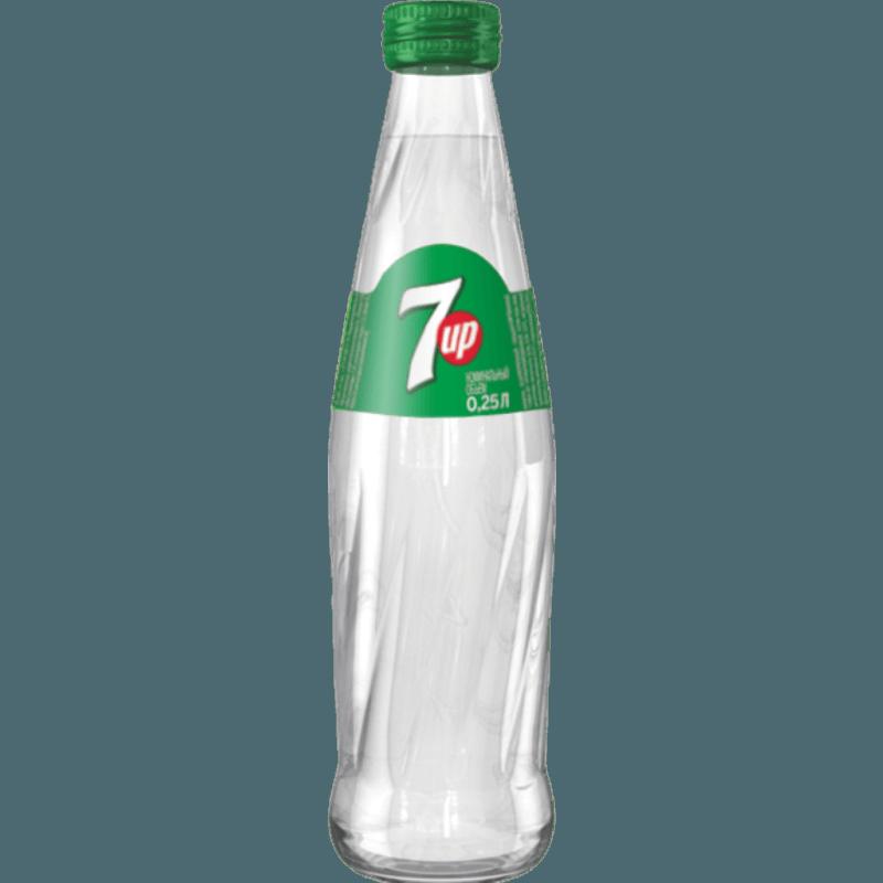 Газированный напиток 7Up 0,25 л.