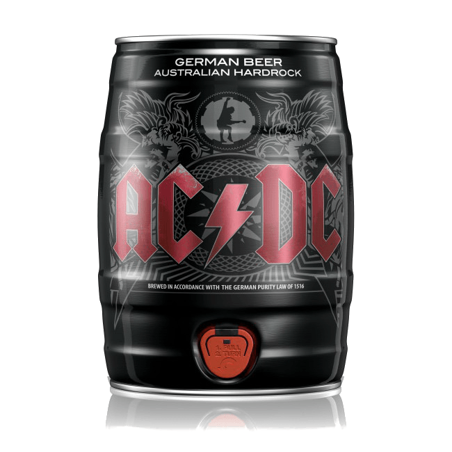 "Пиво ""AC/DC"" (светлое), 5.0%, 5 литров"