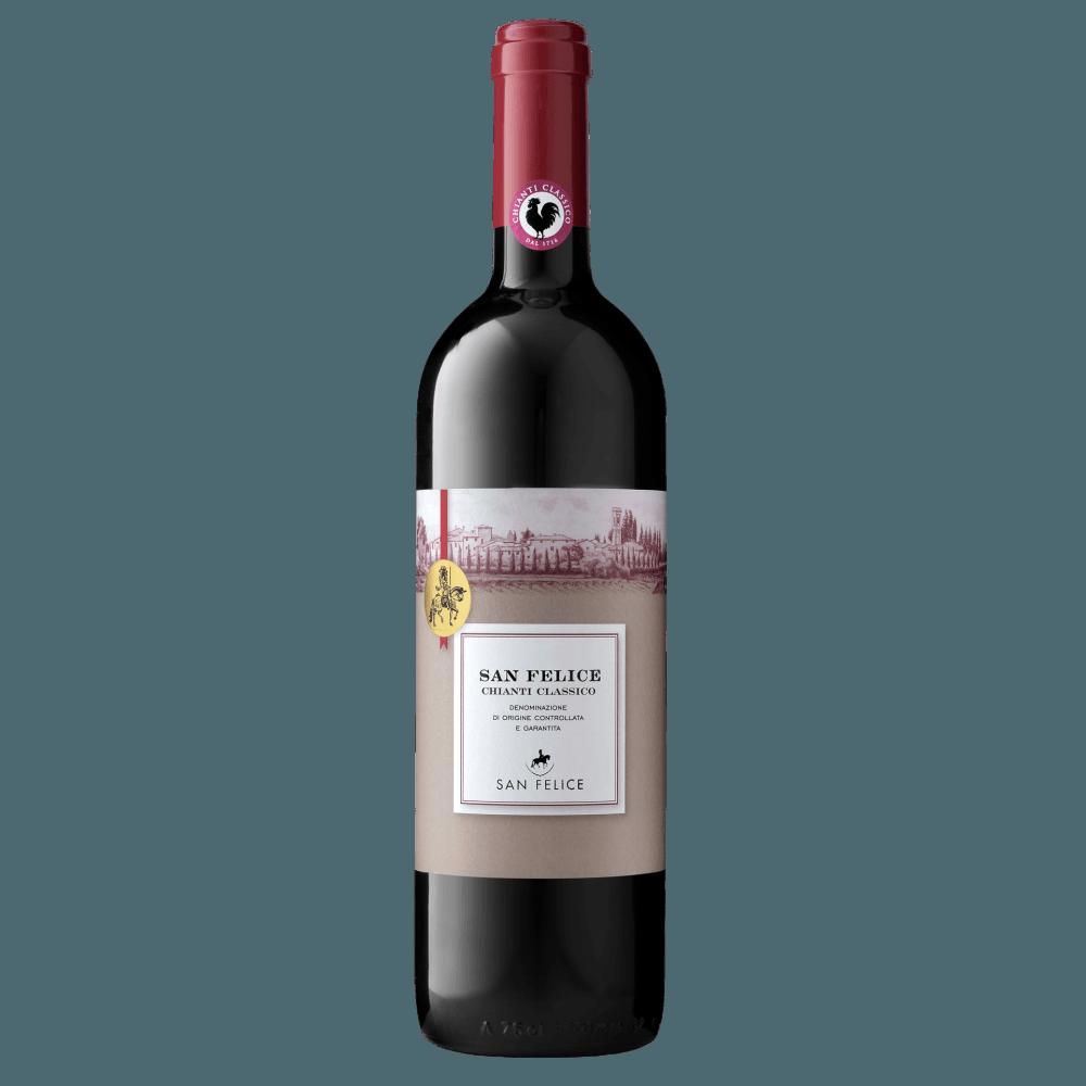 Вино Chianti Classico (красное, сухое), 0.75 л., 2016 г (S)