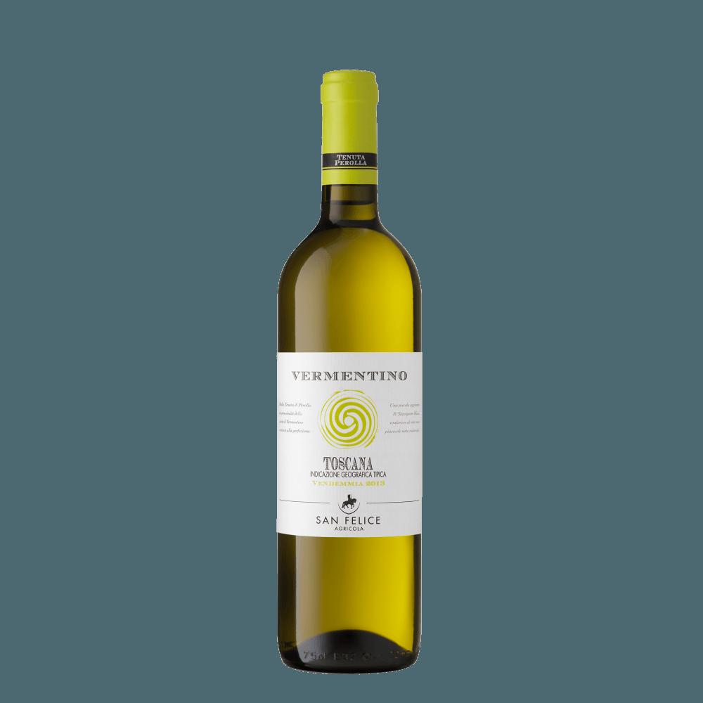 Вино Vermentino Toscana (белое, сухое), 0.75 л., 2017 г (S)