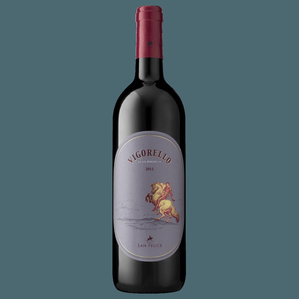 Вино Vigorello (красное, сухое), 0.75 л., 2013 г (S)