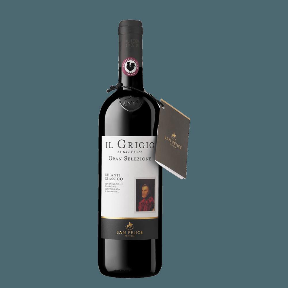 Вино Chianti Classico il Grigio Gran Selezione (красное, сухое), 0.75 л., 2014 г (S)