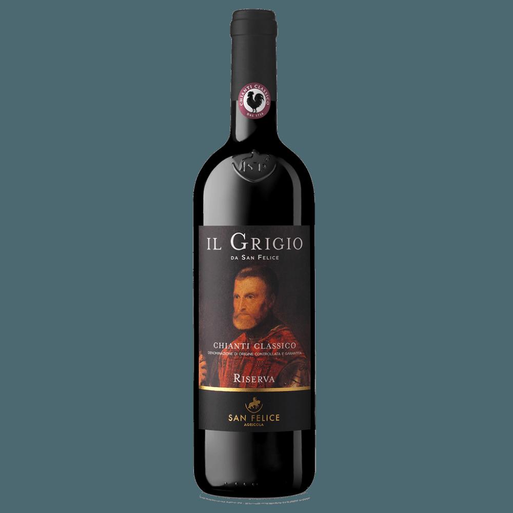 Вино Il Grigio Chianti Classico Riserva (красное, сухое), 0.75 л., 2014 г (S)