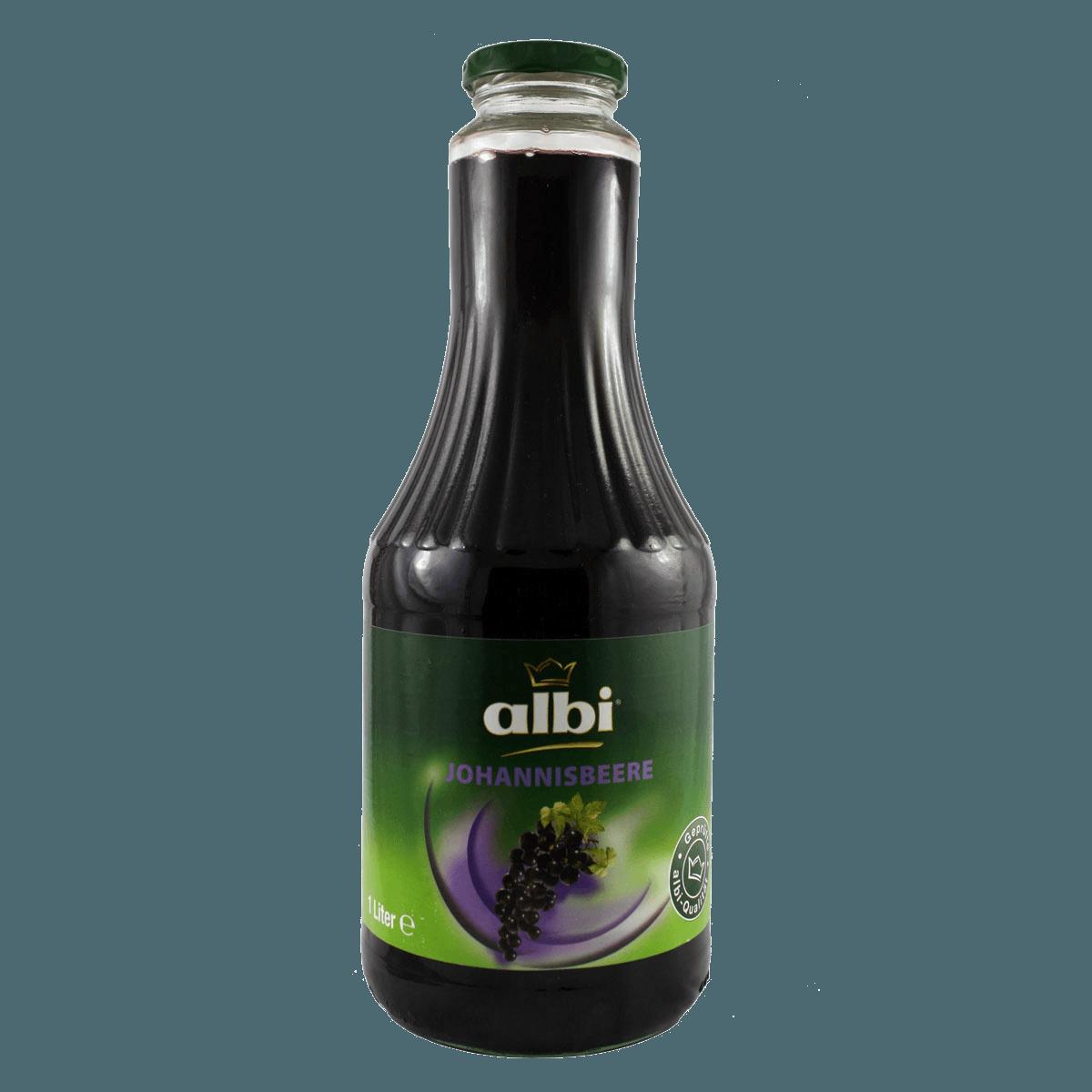 ALBI, напиток из черной смородины 25%, 1.0 л.