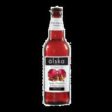 """Сидр Alska """"Пуаре Алска"""", (яблоко и корица)  0,5 л."""