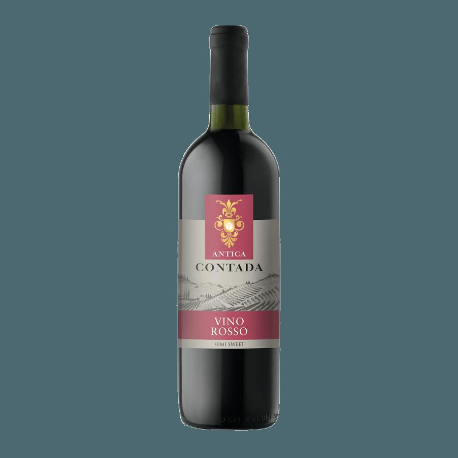 Вино Antica Contada Rosso Semi Sweet, 0.75 л.