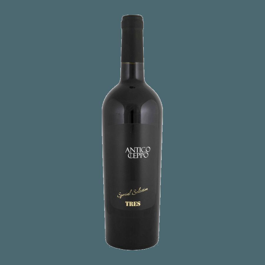 Вино Antico Ceppo Tres Rosso Lazio (красное, полусухое) 0,75 л