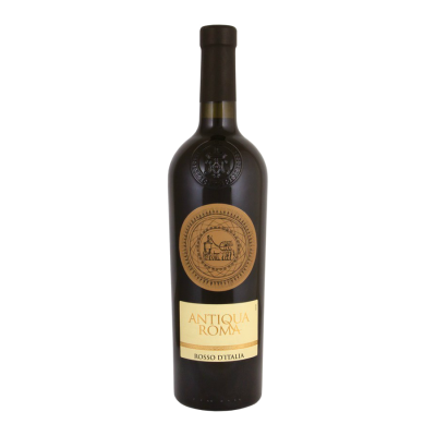 Вино Antiqua Roma Rosso D'Italia (красное, полусухое) 0,75 л