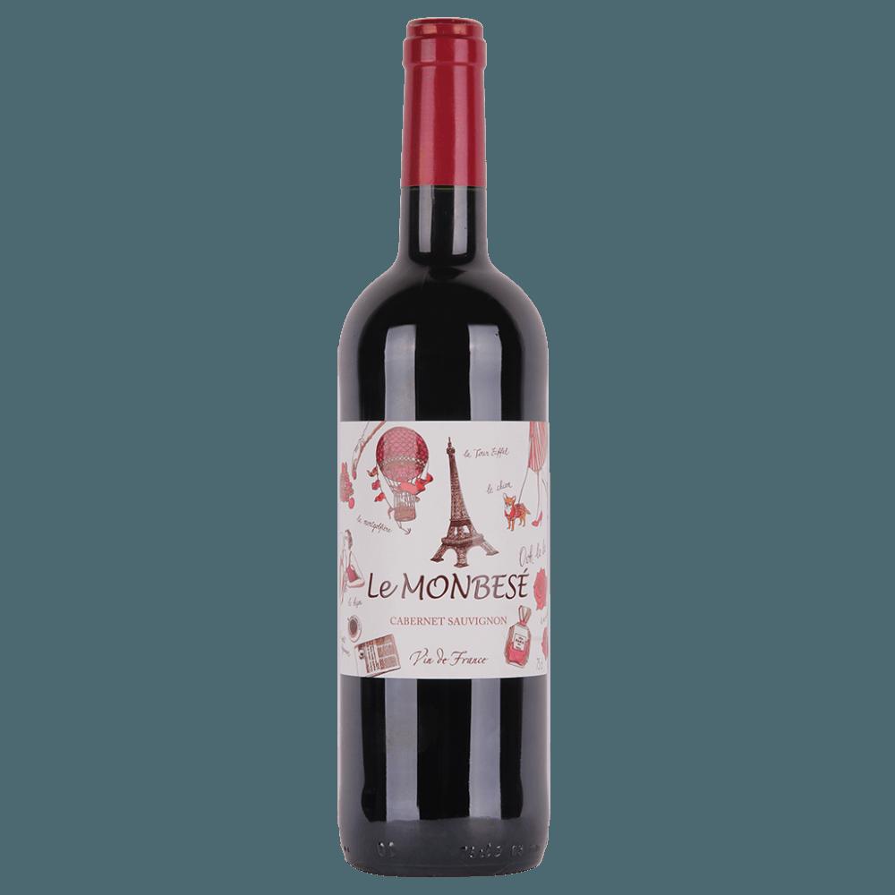 Вино Le Monbese Cabernet Sauvignon (красное, сухое), 0.75 л. (S)