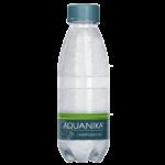 Акваника, питьевая газированная вода, 0.2 л.