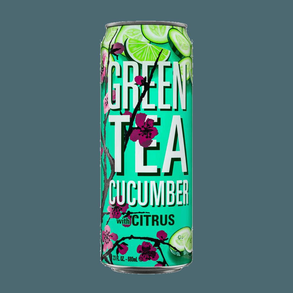 """Напиток """"Arizona"""" Green Tea (Зеленый чай с огурцом и цитрусом), 0.68 л."""