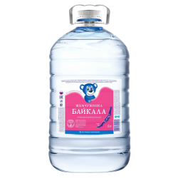 Жемчужинка Байкала, питьевая вода для детей, 5.0 л.