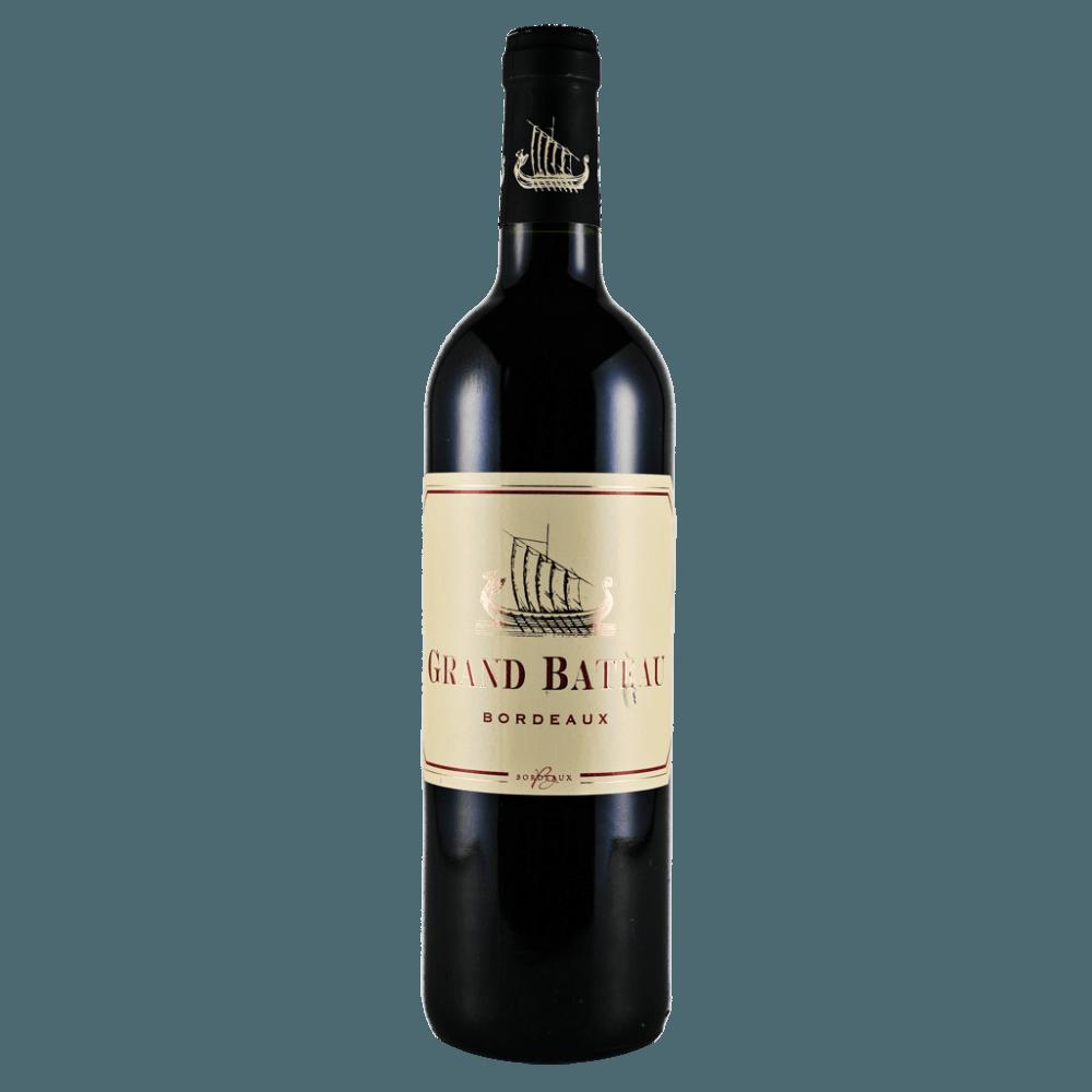Вино Grand Bateau Rouge (красное, сухое), 0.75 л. 2015 г. (S)