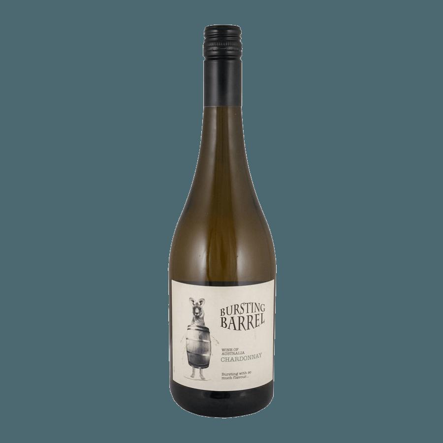 Вино Bursting Barrel Chardonnay (белое, полусухое) 0,75 л