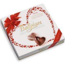 """Шоколадные конфеты The Belgian """"Сердечки"""" 200г"""