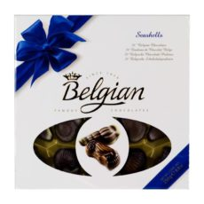 """Шоколадные """"Дары моря"""" The Belgian синий бант, 250г"""