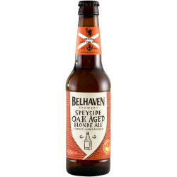 "Пиво ""Белхевен"" Спейсайд Оак Эиджед Блонд Эль (Belhaven Speyside Oak Aged Blonde Ale) 0.33 л."
