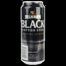 "Пиво ""Белхевен"" Блэк Скоттиш Стаут (Belhaven Black Scottish Stout), 0.44 л. (4.2%)"