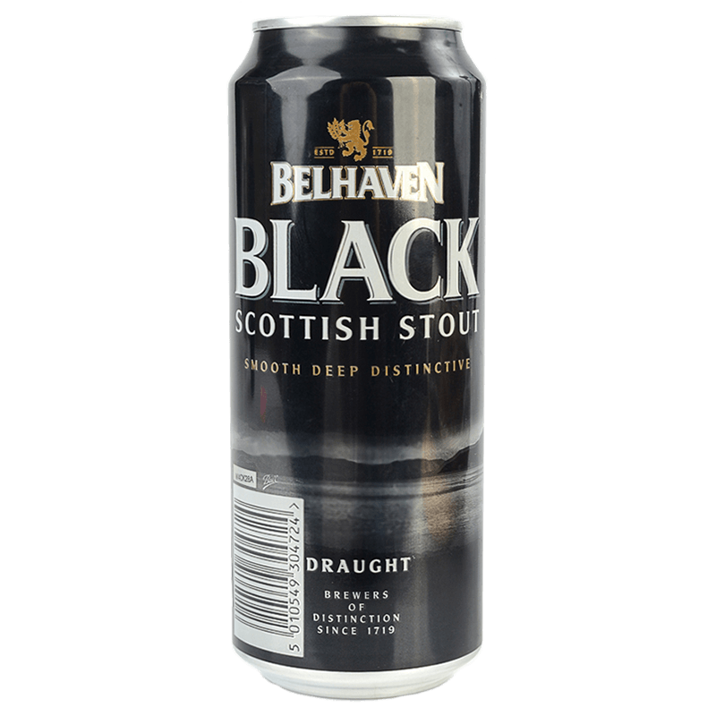 "Пиво ""Белхевен"" Блэк Скоттиш Стаут (Belhaven Black Scottish Stout), 0.44 л."