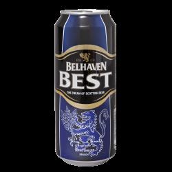"""Пиво """"Белхевен"""" Бест (Belhaven Best), 0.44 л."""