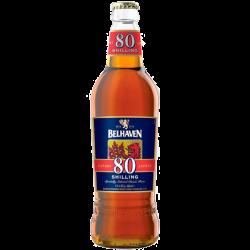 """Пиво """"Белхевен"""" 80 Шиллингов (Belhaven 80 Shilling), 0.5 л."""