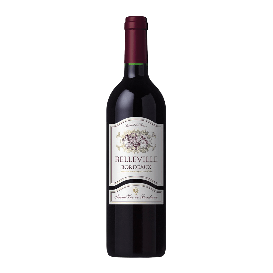 Вино Belleville Bordeaux (красное, сухое) 0,75 л