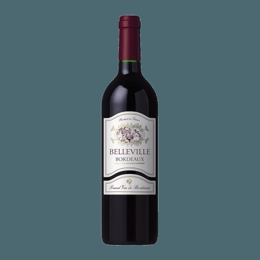 Вино Belleville Bordeaux (красное, сухое) 0,75 л