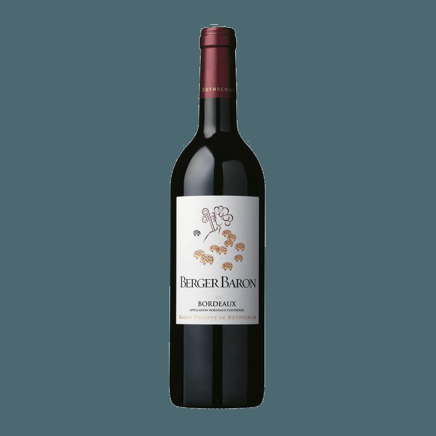 Вино Berger Baron Bordeaux  AOC 0,75 л (ew)