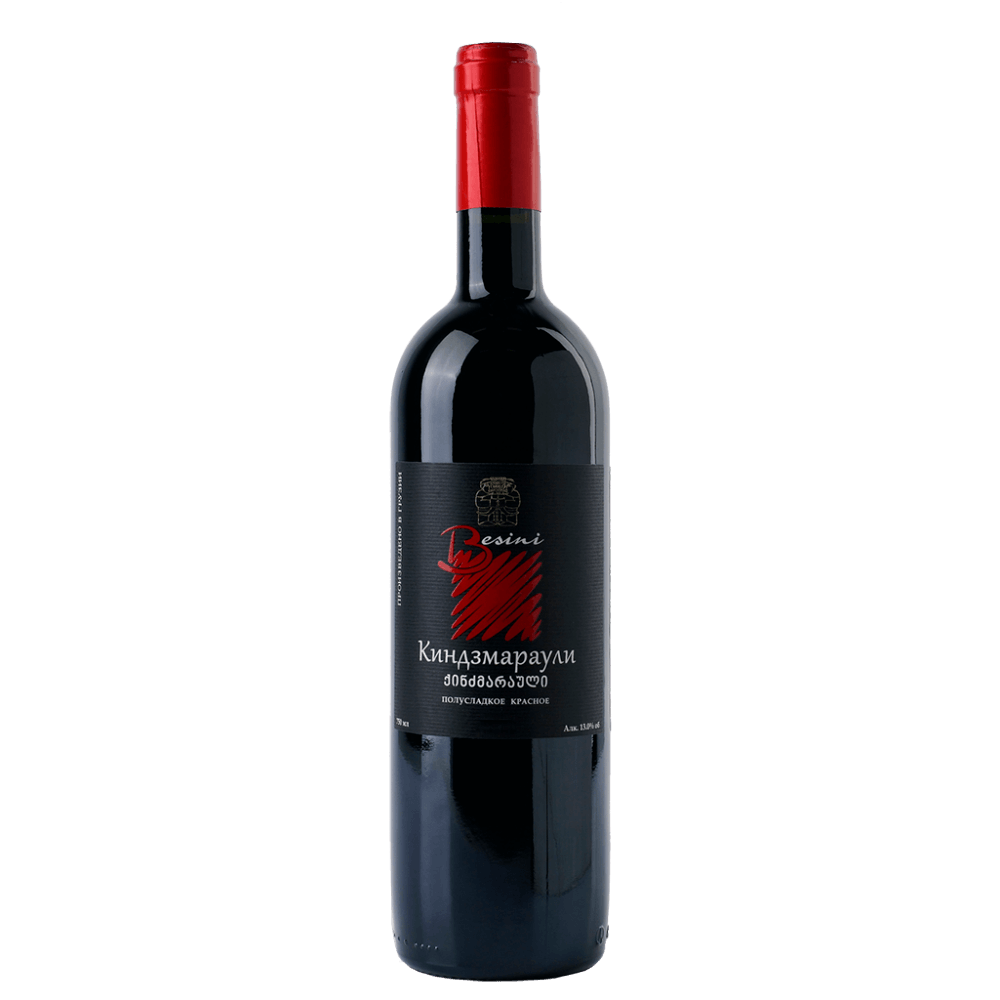 Вино Kindzmarauli (красное, полусладкое), 0.75 л. 2017 г. (S)