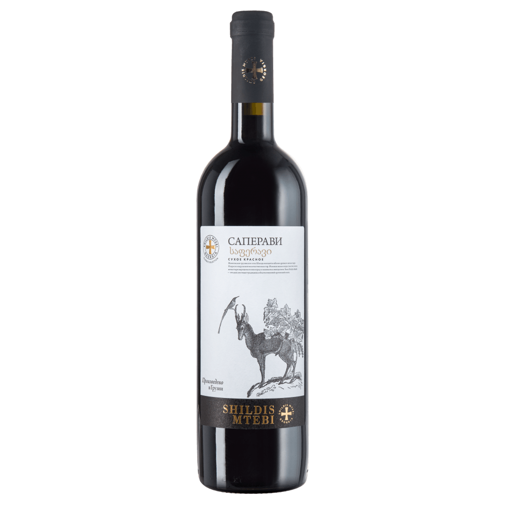 Вино Saperavi Shildis Mtebi (красное, сухое), 0.75 л. 2016 г. (S)