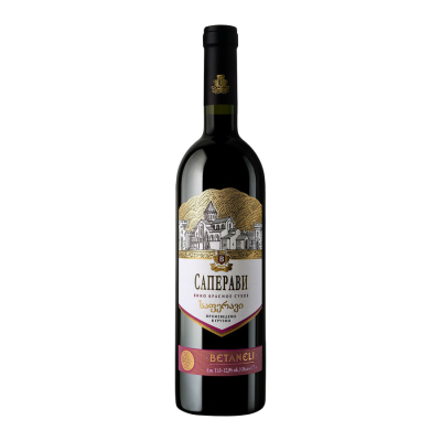 Вино Betaneli Саперави (красное, сухое) 0,75 л