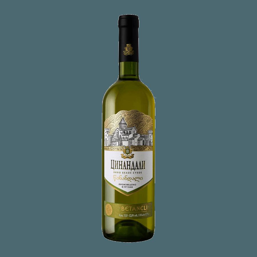 Вино Betaneli Цинандали (белое, сухое) 0,75 л