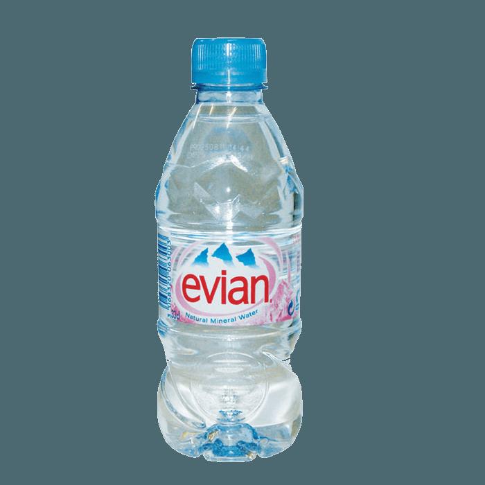 Evian (Эвиан), минеральная вода без газа, 0.33 л.