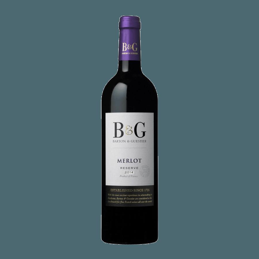 Вино Barton & Guestier Merlot (сухое) 0,75