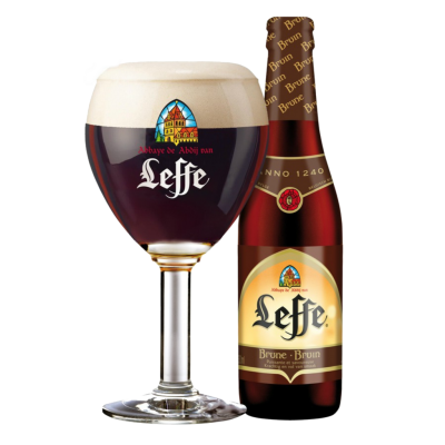 "Пиво ""Leffe"" Broun, темное, 0.33 л. (6.6%)"