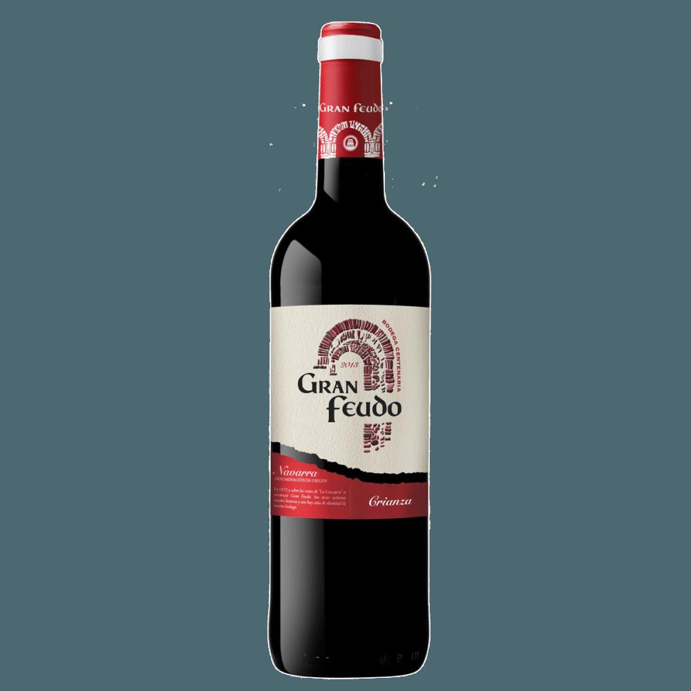 Вино Gran Feudo Crianza (красное, сухое), 0.75 л. 2013 г. (S)