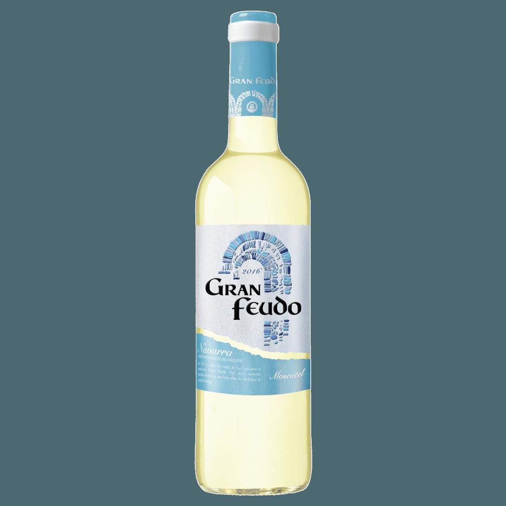 Вино Gran Feudo Moscatel (белое, сухое), 0.75 л. 2016 г. (S)