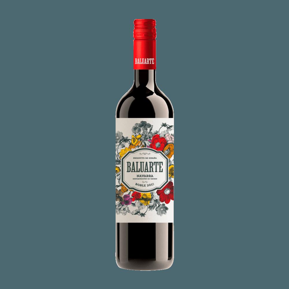 Вино Baluarte Roble (красное, сухое), 0.75 л. 2015 г. (S)
