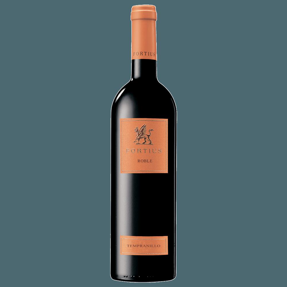 Вино Fortius Roble (красное, сухое), 0.75 л. 2015 г. (S)