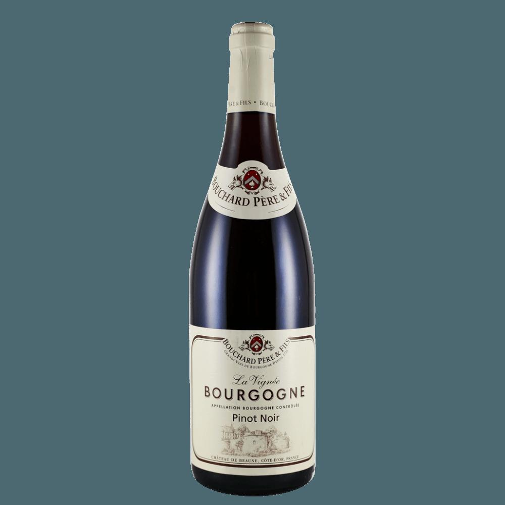 Вино Bourgogne Pinot Noir La Vignee (красное, сухое), 0.75 л., 2015 г. (S)