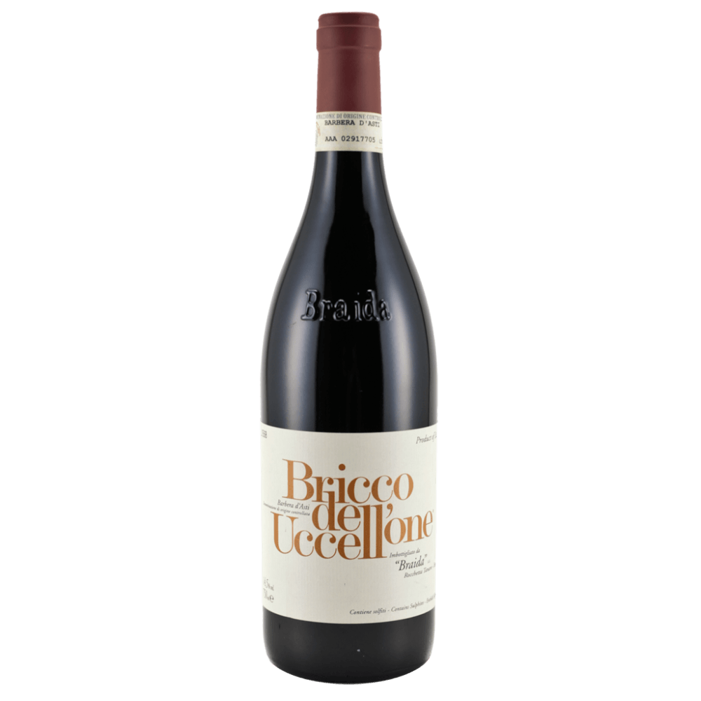 Вино Bricco dell' Uccellone (красное, сухое), 0.75 л. 2015 г. (S)