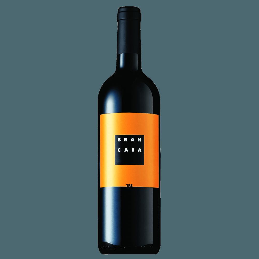 Вино Tre (красное, сухое), 0.75 л. 2015 г. (S)