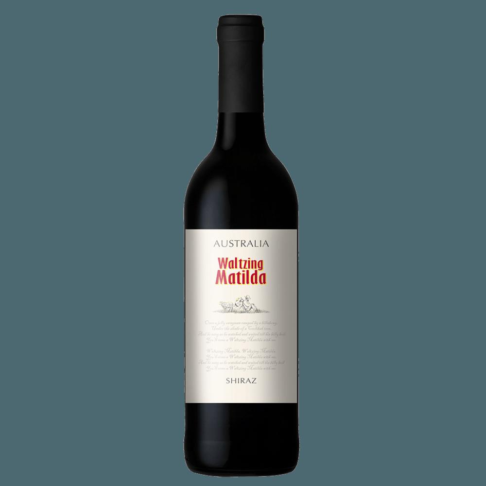 Вино Waltzing Matilda Shiraz (красное, полусухое), 0.75 л. 2016 г. (S)
