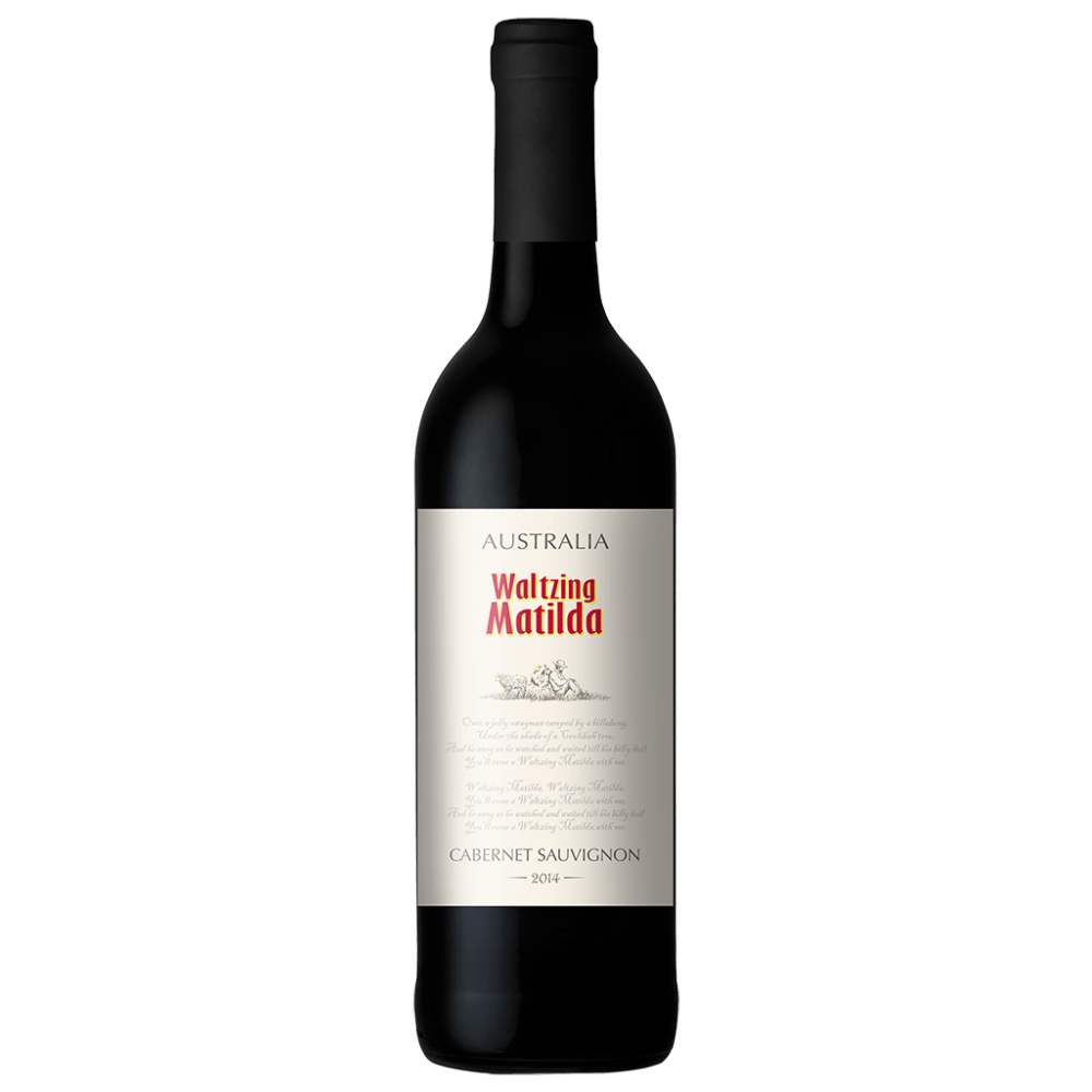 Вино Waltzing Matilda Cabernet Sauvignon (красное, полусухое), 0.75 л. 2015 г. (S)