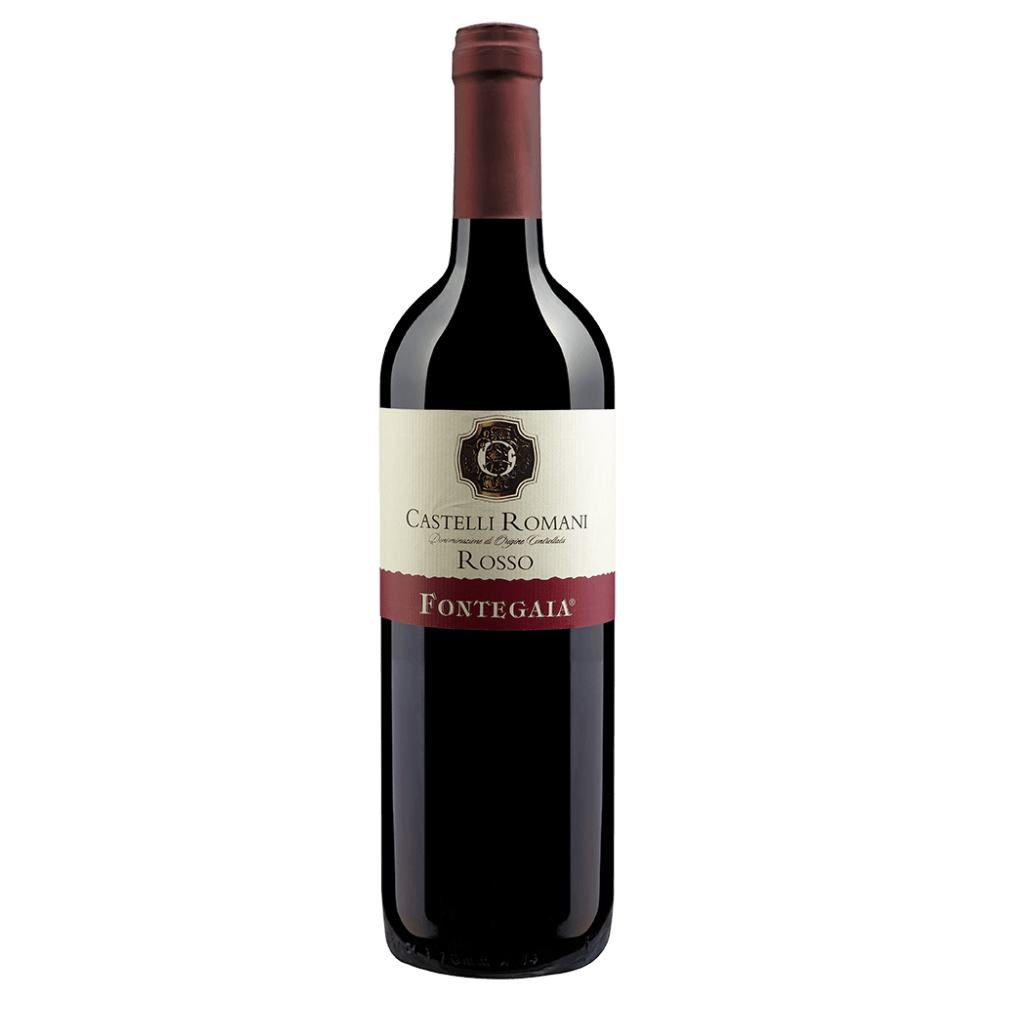 Вино Fontegaia Castelli Romani Rosso (красное, сухое), 0.75 л., 2015 г. (S)