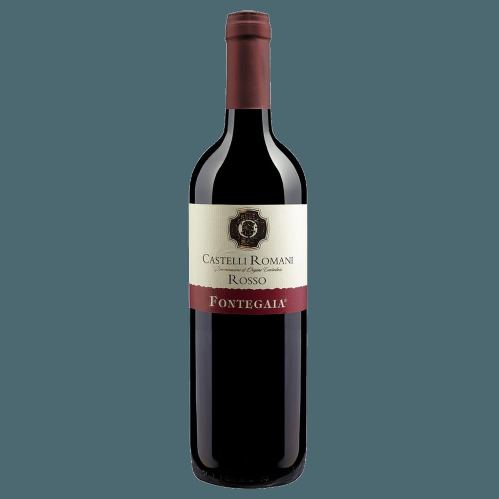 Вино Fontegaia Castelli Romani Rosso (красное, сухое), 0.75 л., 2016 г. (S)
