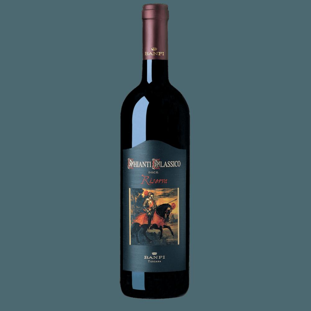 Вино Chianti Classico Riserva (красное, сухое), 0.75 л., 2014 г. (S)