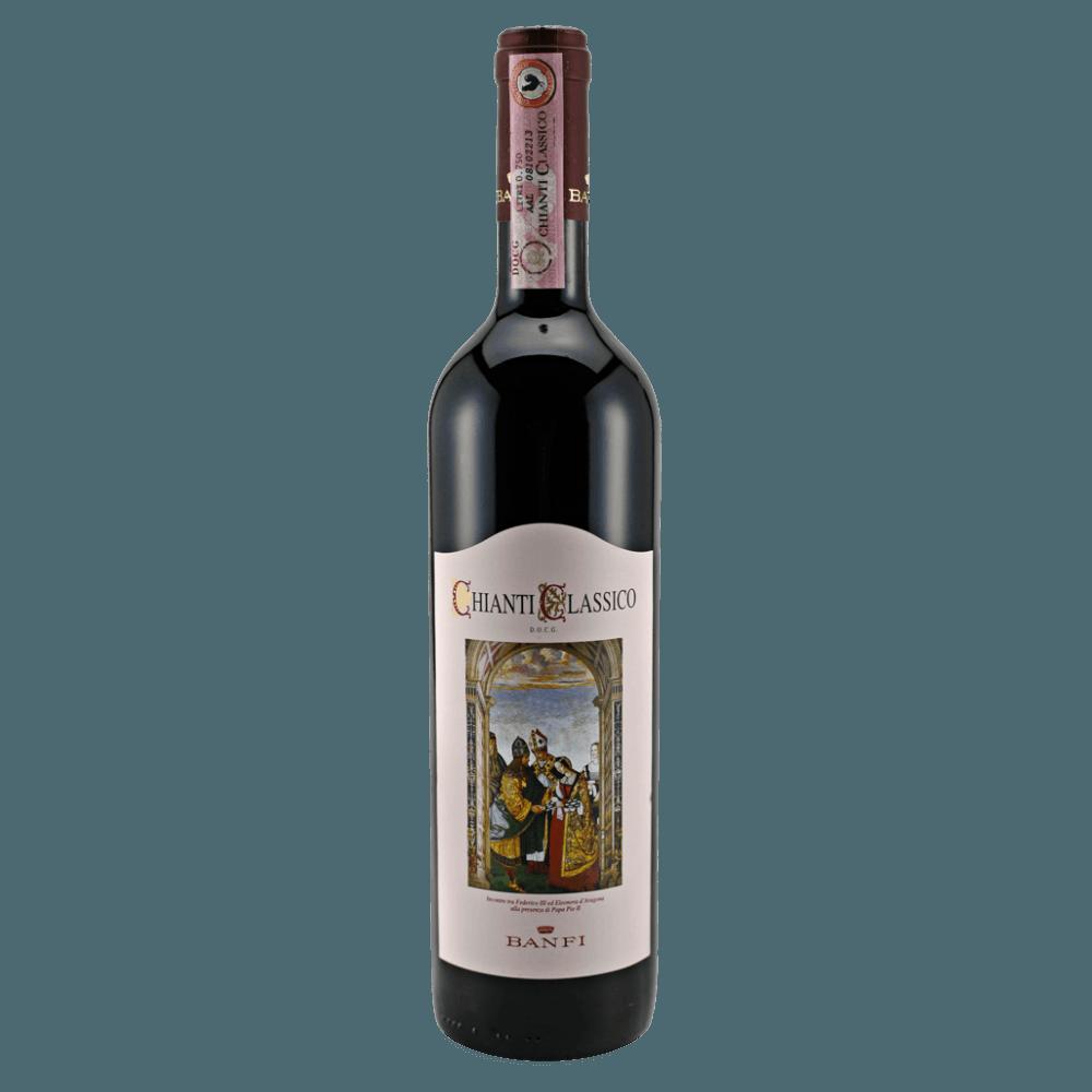 Вино Chianti Classico (красное, сухое), 0.75 л., 2016 г. (S)